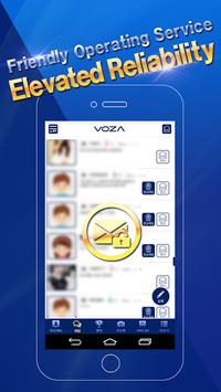 VOZA Live - Video Chat, Robust Security Massenger screenshot 4