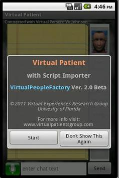 Virtual Patient poster