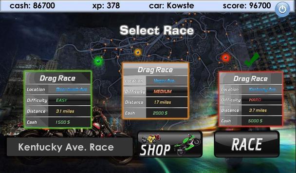 Bike Drag Racing screenshot 11
