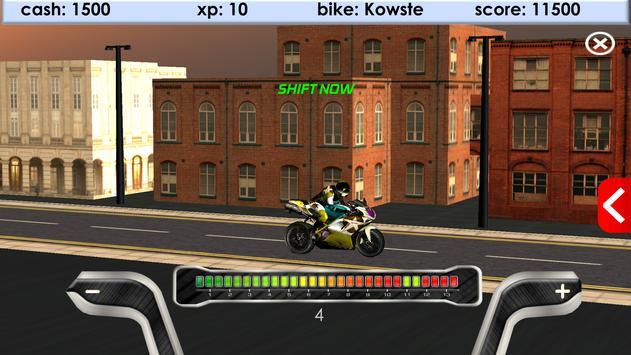 Bike Drag Racing screenshot 2