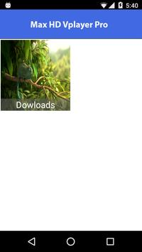 Max HD VPlayer Pro apk screenshot