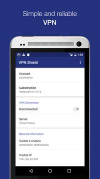 VPN Shield - Unblock Web APK poster