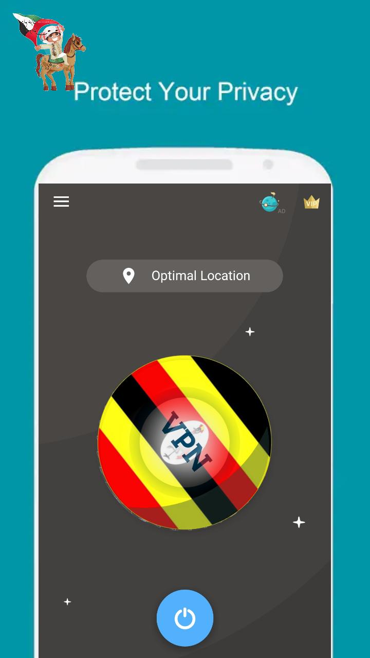 VPN UGANDA - A Fast, Unlimited, Free VPN Proxy for Android
