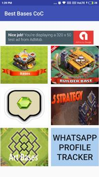 Best Bases for Clash Clans poster