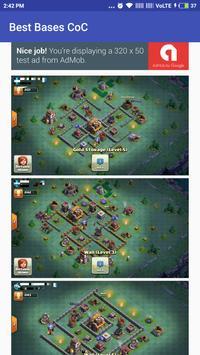 Best Bases for Clash Clans apk screenshot