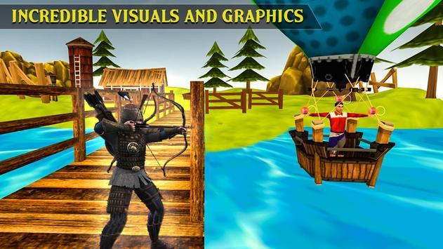 VR Archer Fruit Shooting apk screenshot