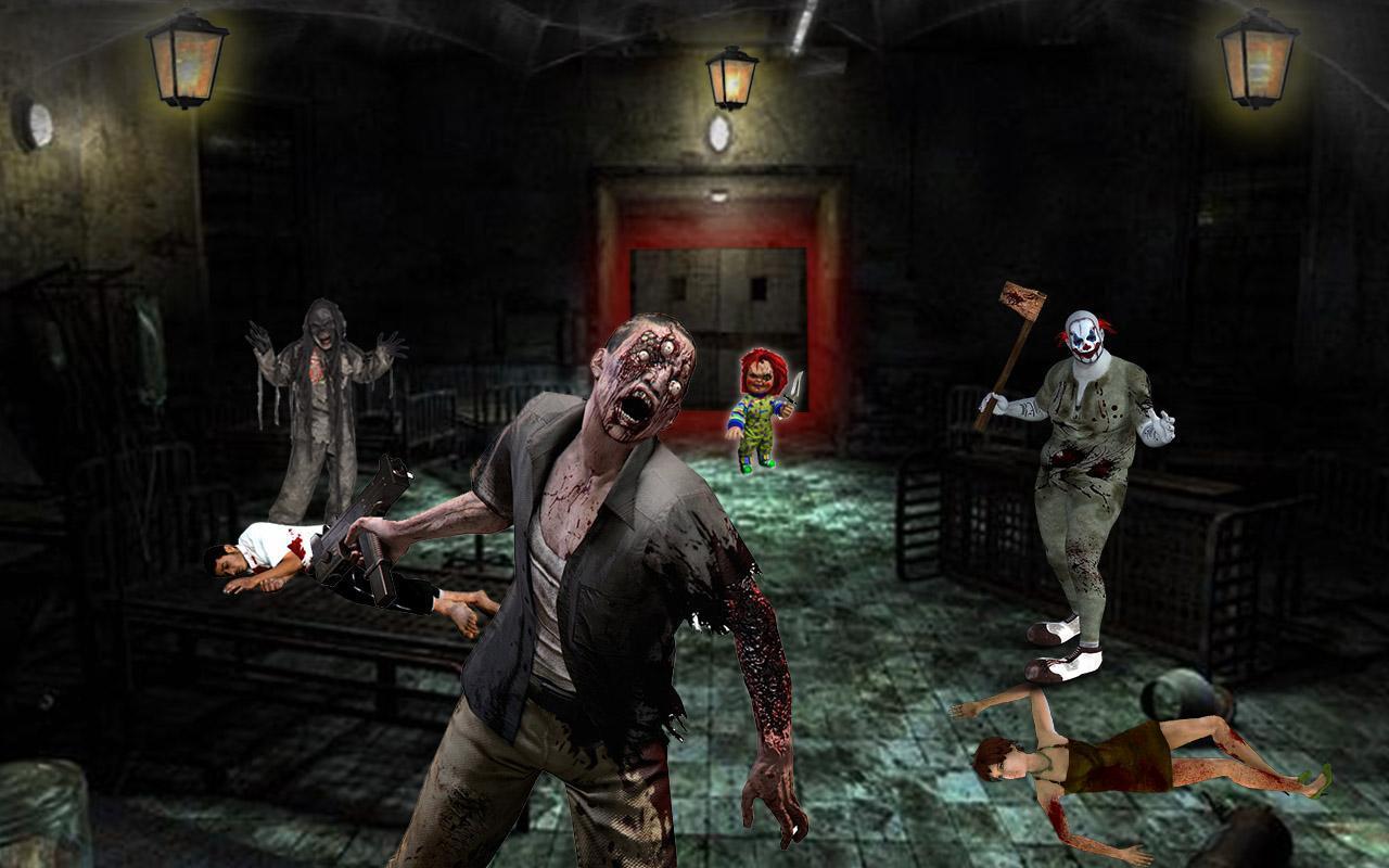 Игры со страшными картинками