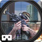 VR Commando City Sniper Strike icon