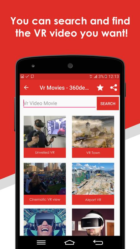 free vr movies download for android