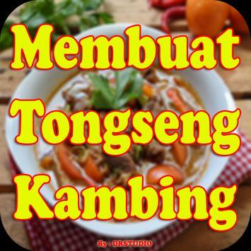 Resep Membuat Tongseng Kambing poster