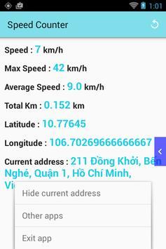 Speed Counter (km/h) screenshot 1