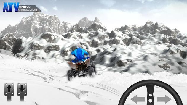 ATV Snow Simulator screenshot 1