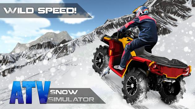 ATV Snow Simulator screenshot 2
