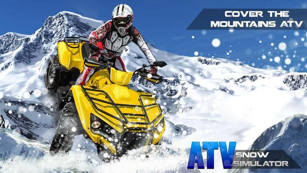 ATV Snow Simulator screenshot 3