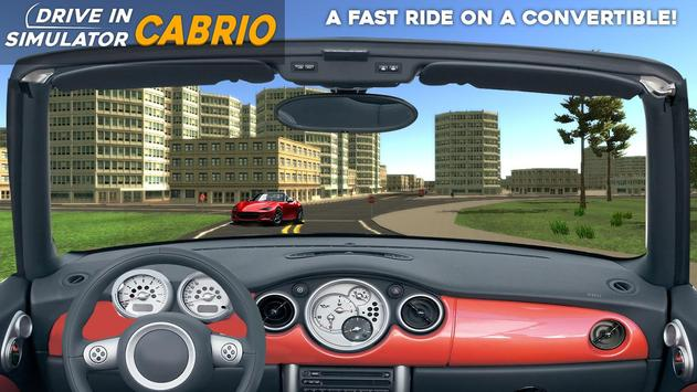 Drive in Cabrio Simulator apk screenshot