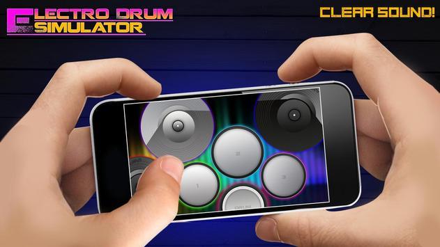 Electro Drum Simulator poster