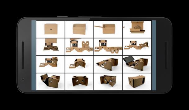 How to build a homemade Cardboard viewer apk screenshot