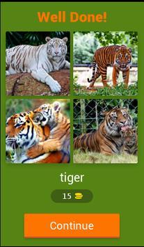 Animal quiz screenshot 1