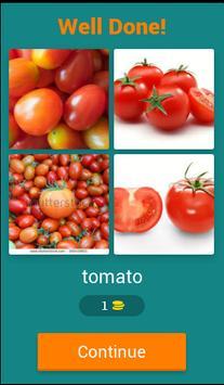 Quiz for Vegetables screenshot 1