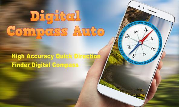 Digital Compass Auto screenshot 1