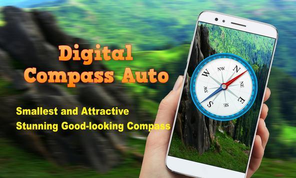 Digital Compass Auto screenshot 3