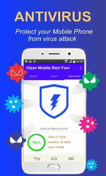 Clean Mobile Ram Fast apk screenshot