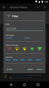 WiFiAnalyzer (open-source) apk تصوير الشاشة