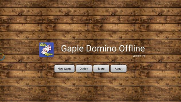 Domino Offline 2018 poster