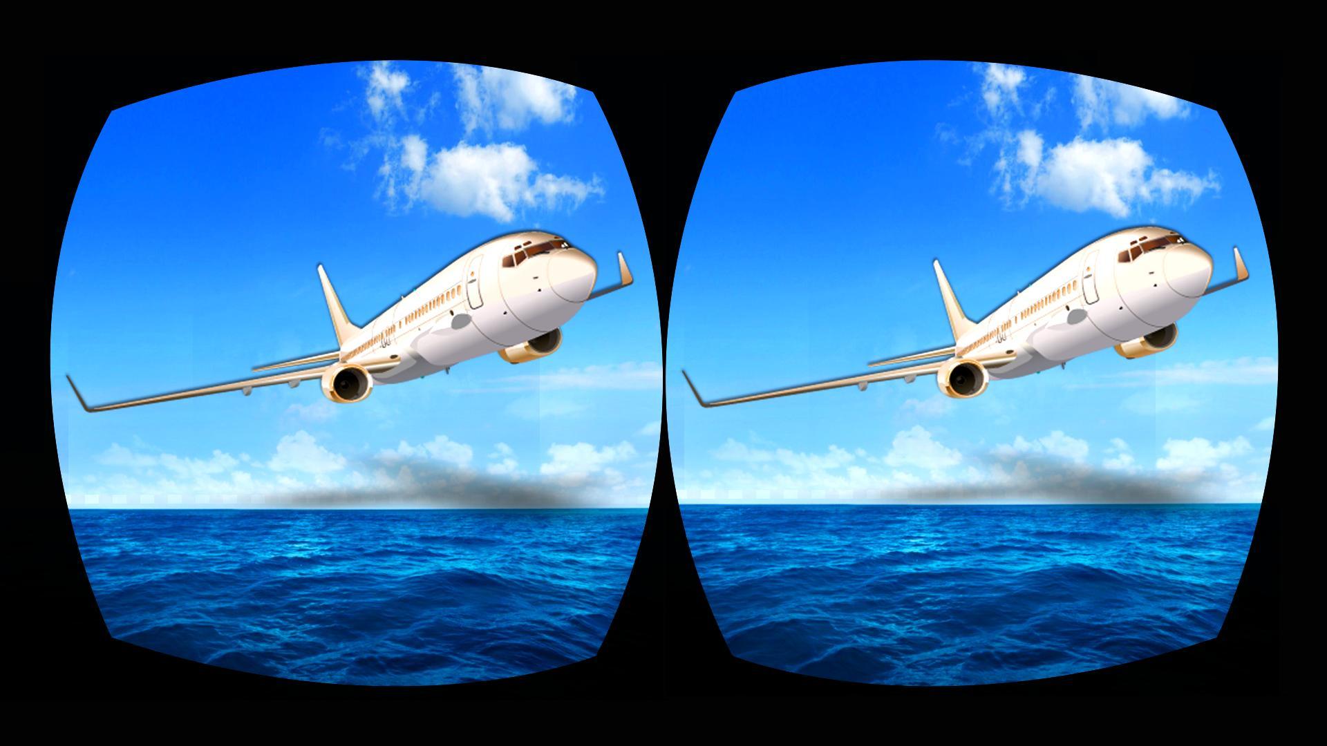 Vr Airplane Flight 3d Simulator Flight Pilot 3d For
