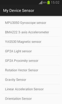 My Device Sensor poster