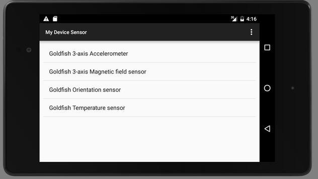 My Device Sensor screenshot 2