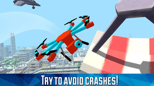 City Drone Flying Simulator: Quadcopter Flight 3D apk screenshot