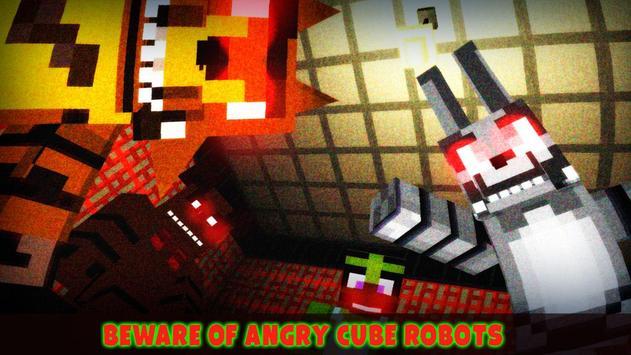 VR 5 Horror Nights at Animatronics Cube Pizzeria screenshot 9