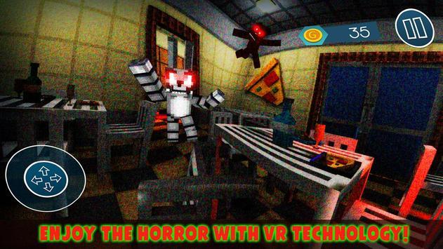 VR 5 Horror Nights at Animatronics Cube Pizzeria screenshot 2