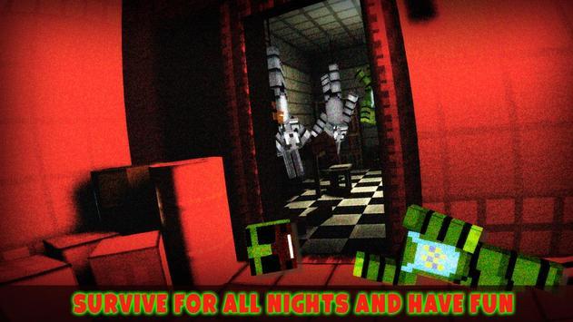 VR 5 Horror Nights at Animatronics Cube Pizzeria screenshot 3