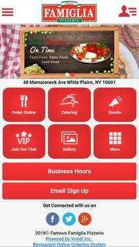 Famous Famiglia Pizzeria WP screenshot 5