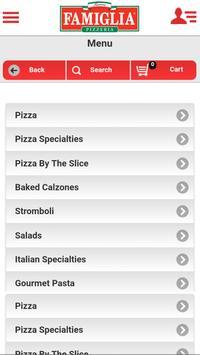 Famous Famiglia Pizzeria WP screenshot 3