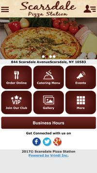 Scarsdale Pizza Station poster