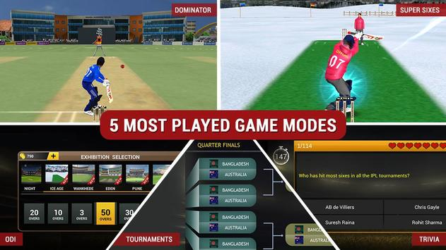 MS Dhoni: The Official Cricket Game plakat