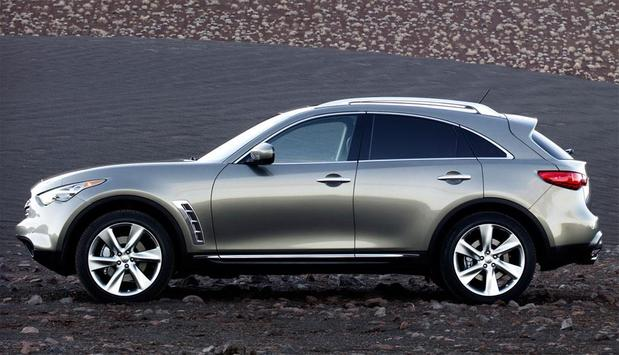 Wallpapers of Infiniti FX poster
