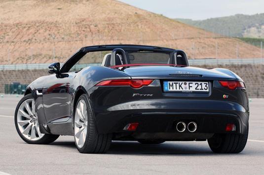 Wallpapers of Jaguar F-Type poster