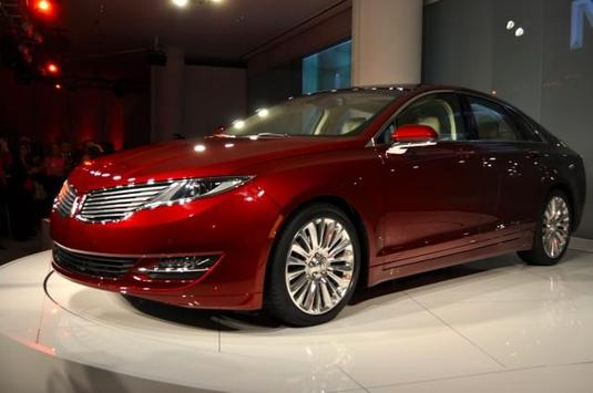 Wallpapers of the Lincoln MKZ poster