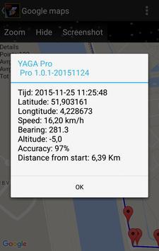 YAGA Free Yet Another GPS App screenshot 5