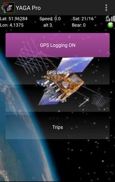 YAGA Free Yet Another GPS App poster