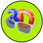 360VR Player - 3D Movie Player icon