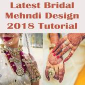Latest Bridal Mehndi Design Tutorials 2018 icon