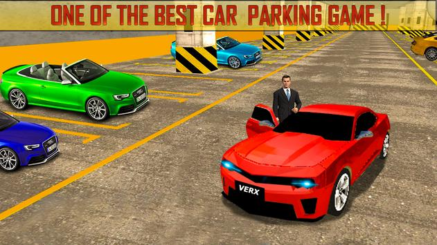 Real Dr Advance Car Parking 2018 poster
