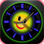 Analog Clock with Eyes - LWP icon