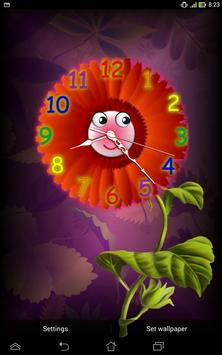 Analog Clock with Eyes - LWP screenshot 10