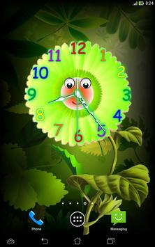 Analog Clock with Eyes - LWP screenshot 12